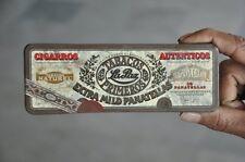 Vintage Cigaros Autenticos Pantella Tobacco Cigars Ad Litho Tin Box , Holland