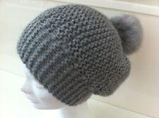 Bonnet gris clair Neuf