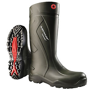 Dunlop Purofort+ Plus Full Safety Wellingtons Work Boot Sizes 3 - 14/15