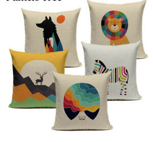 croco Best Friend Cushion Cover hill Throw Pillow travel people Home Sofa Custom