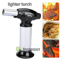 Jet Torch Gun Lighter Welding Adjust Flame Butane Cigar Lighter Refillable Gas