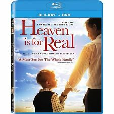 Heaven is for Real  (DVD/Blu-ray, 2-Disc, 2014, Canadian, Bilingual)