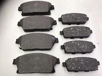 FOR VAUXHALL MOKKA X 1.4 1.6 2016 ONWARD FRONT AND REAR BRAKE PADS