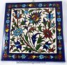 Armenian Flowers Handmade painted tile wall hanging decor ceramic Iznik 4+1
