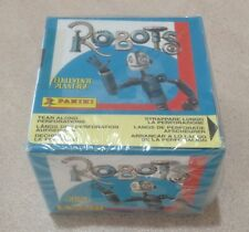 2004 Panini Robots The Movie Stickers - Factory Sealed Box of 50 Packs