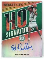 2018-19 Ed Pinckney Auto Panini Hoops Autographs Hot Signatures