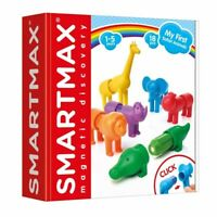 SmartMax My First Safari Animals Magnetic Play 18 PCs