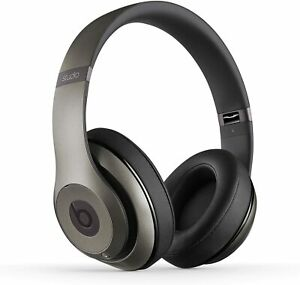 Beats Studio 2.0 by DRE WIRED no bluetooth Headphones Noise Cancelling Titanium