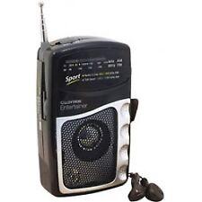 Lloytron N2201BK Entertainer AM/FM Personal Portable Radio