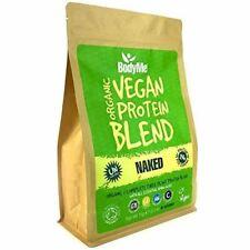 BodyMe Mélange Poudre Proteine Vegan Bio | Nue Naturel | 1kg | NON SUCRE | Gluci