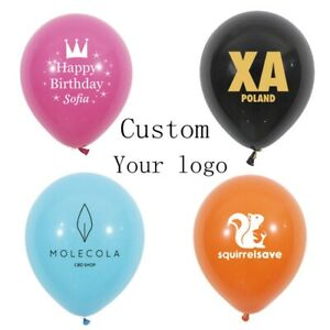 1000 Balloon Free Custom Print Logo For Brand Advertising Party Wedding Birthday