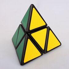 black pyramid cube Pyraminx Magic Cubes 2x2x2 Speed Puzzle Brain Teaser piramide