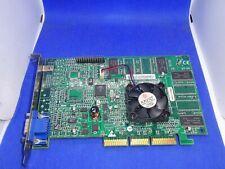 3DFX VOODOO 4 4800/4500/4000 TV+LCD AGP 32MB SDRAM  GRAFIKKARTE VGA  #GK3078