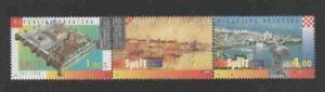 CROATIA #236 1995 TOWN OF SPLIT MINT VF NH O.G S/5
