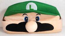 Luigi Face Hat, Cap, Beanie Nintendo Super Mario Bros.Mario Brothers