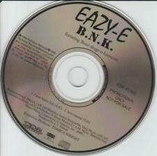 Eazy-E: B.N.K. Featuring Bone Thugs-N-Harmony PROMO MUSIC AUDIO CD 2tk ESK 41302