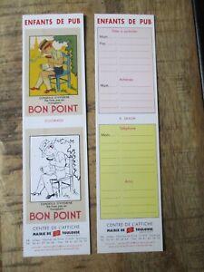 Marques pages collectors -Thème Postal,enfant de pub,bon point,Toulouse-2006