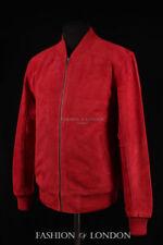 Abrigos y chaquetas de hombre Bomber rojo color principal rojo