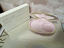 Mary Kay ~ Pink  Oval Foundation mirror  Compact ~ discontinued ~ New in box