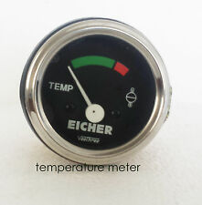CHROME Vintage 12V Car Truck Boat Generator Water Temprature Gauge Meter -Eicher