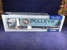 M-44 CORGI 1:50 SCALE DIE CAST TRUCK  - CC12005 MAN FRIDGE TRAILER - PULLEYN
