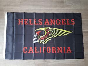Angels MC Fahne Biker Fan Banner Fan Flagge ca. 90x150 cm MC Hells Sammlerstück