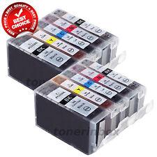 10pk PGI-5BK CLI-8 Ink Set For Canon PIXMA iP5200R MP500 MP530 MP600 MP610 MP800