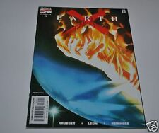 EARTH X #0 Signed by JIM KRUEGER