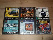 Sony PlayStation 1 Atari PAL 6+ Rated Video Games
