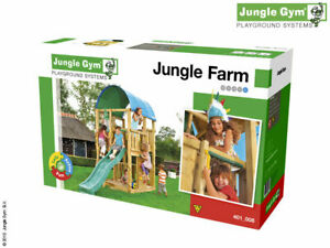 Jungle Gym Farm Climbing Frame  FULL KIT WITHOUT TIMBER