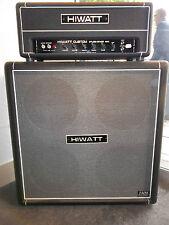 Hiwatt Studio/Stage 20/40W valve head Custom built hand wired & Hiwatt 4x12 cab