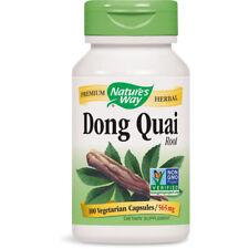 NATURES WAY - Dong Quai Root 565 mg - 100 Capsules