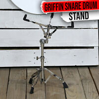 Snare Drum Stand - GRIFFIN Percussion Hardware Tom Holder Practice Pad Mount Key
