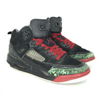 Nike Boys Air Jordan Spizike 317321-026 Red Black Basketball Shoes Size 4.5 Y
