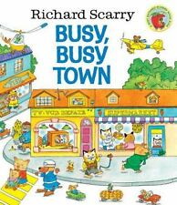 Richard Scarry's Busy, Busy Town Hardcover