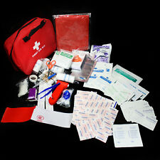 35 Kind 232pc First Aid Kit Medical Bag All Purpose Emergency Survival Home Car