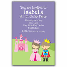 Princess/Fairies Birthday, Child Unbranded Hand-Made Cards