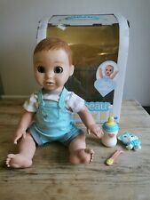 Luvabella Luvabeau Boy Interactive Baby Doll With Accessories Read Discription.