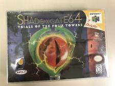 Shadowgate 64 (Nintendo 64, N64 1999) H-SEAM SEALED! - ULTRA RARE!