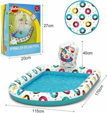 More details for free delivery   vatos inflatable sprinkler splash paddling pool for kids swim