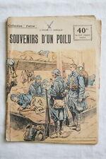 COLLECTION PATRIE N°134 SOUVENIRS D'UN POILU 1919 OSWALD ILLUSTRE