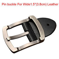 "New Top Quality Alloy Men's Belt Buckle Pin Buckle for Wide 1.5""(3.8cm) Leather"