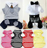 NEW Dog Apparel Dress Summer Various Pet Puppy Cat Clothes Suspender Trousers