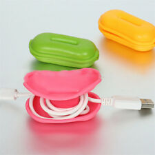 2PCS Waterproof Carrying Hard Case Box Headset Earphone Earbud Storage Pouch Bag