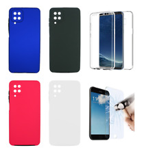 "Funda Carcasa Doble 360º Delantera + Trasera Para Samsung Galaxy A12 (4G) 6.5"""