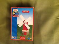 Thomas and friends wooden windmill brand new in box learning curve lc99354 rare