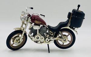 """VTG STYLE NOVELTY MOTORCYCLE REFILLABLE BUTANE CIGARETTE LIGHTER 8"""" x 4"""" W/ Box"""