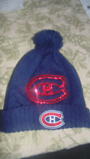 Montreal Canadiens Glitter Reebok  Hat Cap Tuque Mens Womens  New