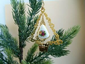 Royal Albert - Old Country Rose Christmas tree ornament