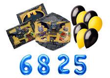 IRPot - BOUQUET DI PALLONCINI LEGO BATMAN KIT N 4 ALLESTIMENTO FESTA A TEMA